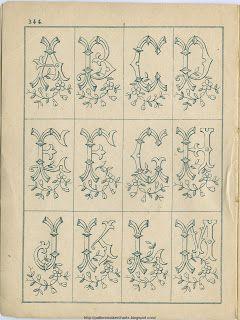 Free Easy Cross, Pattern Maker, PCStitch Charts + Free Historic Old Pattern Books: Sajou No 344: