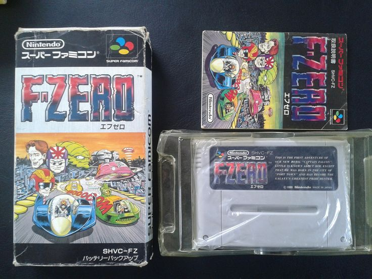 F-Zero for Super Famicom (SNES Japan)