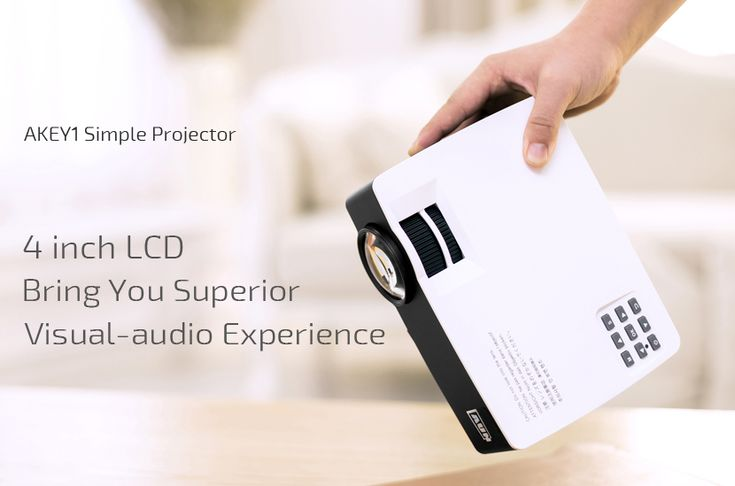Nice 1080P Full HD Projector For Home Theater
