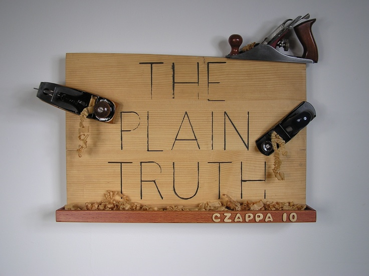 The Plain Truth by Bill Czappa