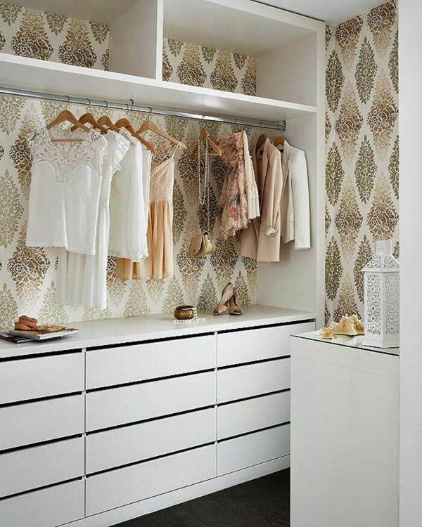 garderobe in weiß saubere linien                                                                                                                                                                                 Mehr
