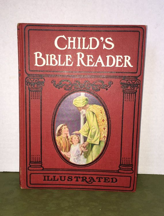 Child's Bible Reader Illustrated Bible by ColsonsCollectibles