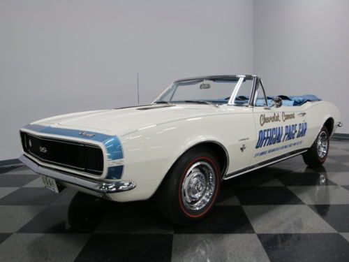 1967 Chevrolet Camaro Convertible pace car