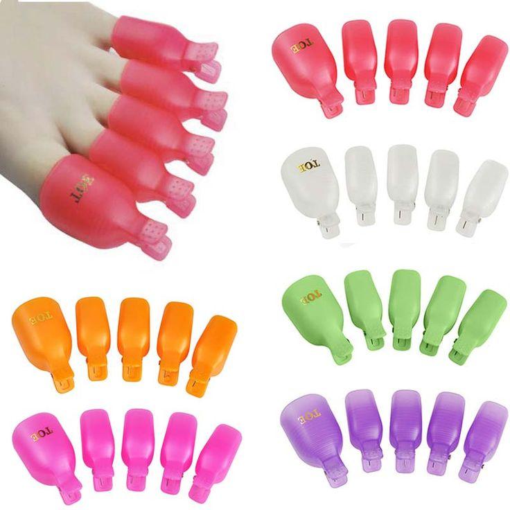 $1.60 (Buy here: https://alitems.com/g/1e8d114494ebda23ff8b16525dc3e8/?i=5&ulp=https%3A%2F%2Fwww.aliexpress.com%2Fitem%2F5Pcs-Plastic-Foot-Toe-Nail-Art-Soak-Off-Cap-Clip-UV-Gel-Polish-Remover-Wrap-Tool%2F32660255451.html ) 5Pcs Plastic Foot Toe Nail Art Soak Off Cap Clip UV Gel Polish Remover Wrap Tool for just $1.60