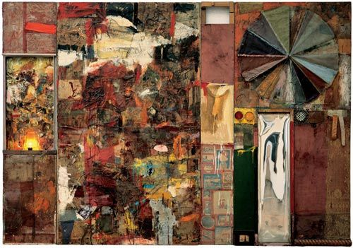 "master of ""the combine"" Robert Rauschenberg, Charlene"