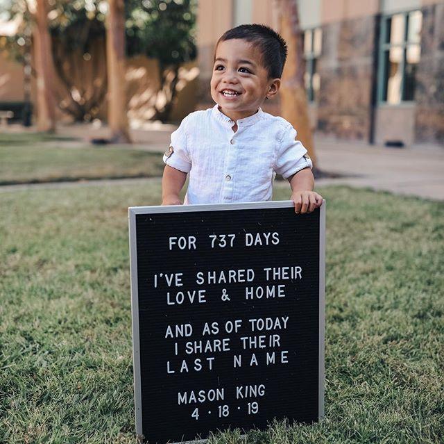 Foto på Zach King  & hans  Son  Mason King
