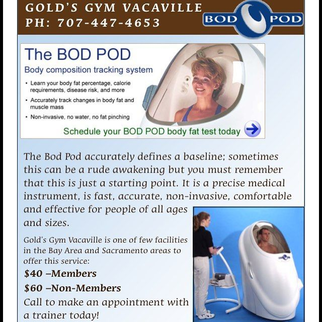 Need an accurate body composition reading? We can definitely help - One of the few Bod Pods in Northern CA. ----- #bodpod #bodyfat #bodycomposition #workout #training #bodybuilding #weightlifting #health #fitness #solanocounty #vacavilleca #cardio #goldsgymvacaville #goldsym