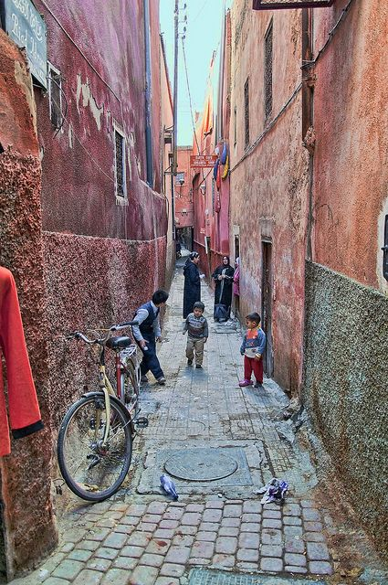 Marrakech, Marocco...love shots like these of the ordinary people. God loves them so much
