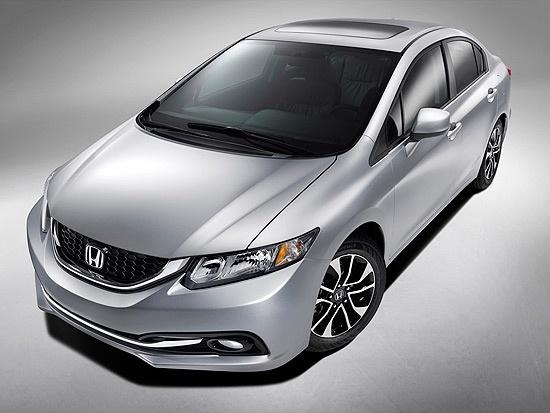 Honda divulga fotos do novo Civic americano.