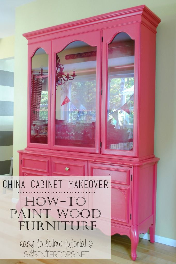 DIY Tutorial  tips   tricks on How To Successfully Paint Wood Furniture   Follow. Best 25  Pink furniture ideas on Pinterest   Pink gold bedroom