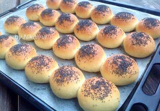 За хората и пиците: Мини млечни хлебчета