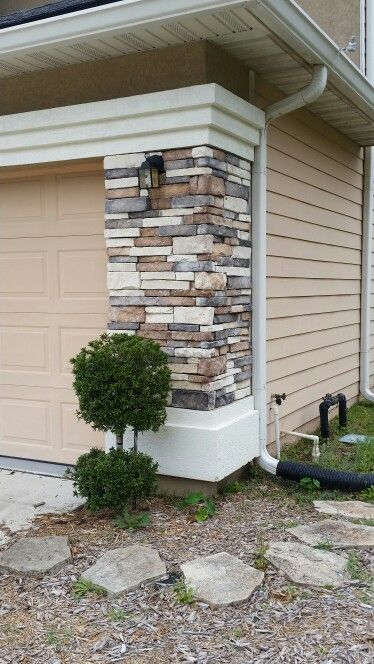 Stone Veneer Elevation : Best images about split level front elevation ideas on