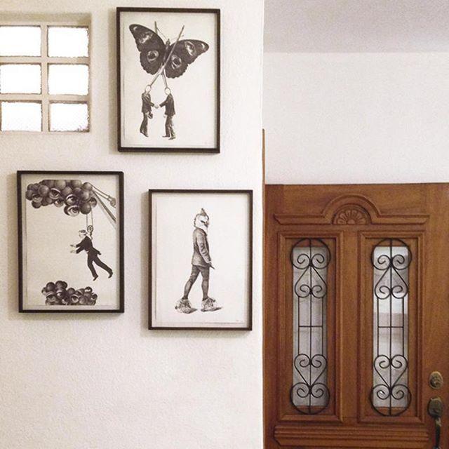 quadros por @pola_brakono ❤ disponível aqui na loja e no site ✨…