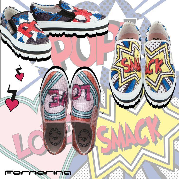 #fornarina # shoes #pop #love #smack #FornarinaShera