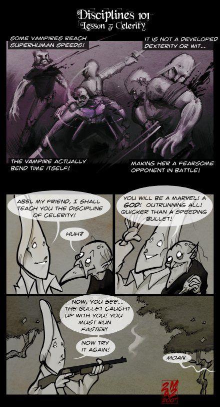 Vampires Suck - (57) Disciplines 101: Celerity