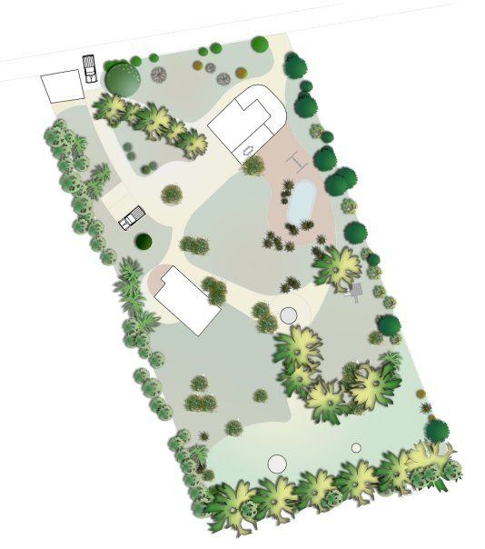 Planos Planta Paisajista - Parcela Batuco, Chacabuco