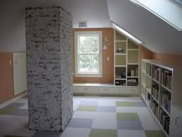 Image result for loft conversion with a chimney in middle of the room