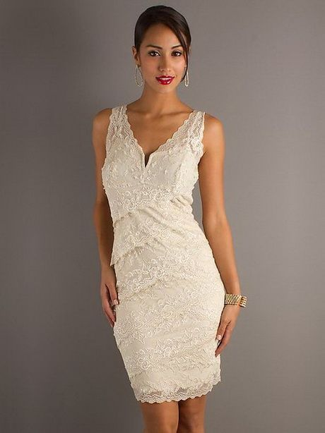 Best 25  Ivory cocktail dress ideas on Pinterest | White dress ...