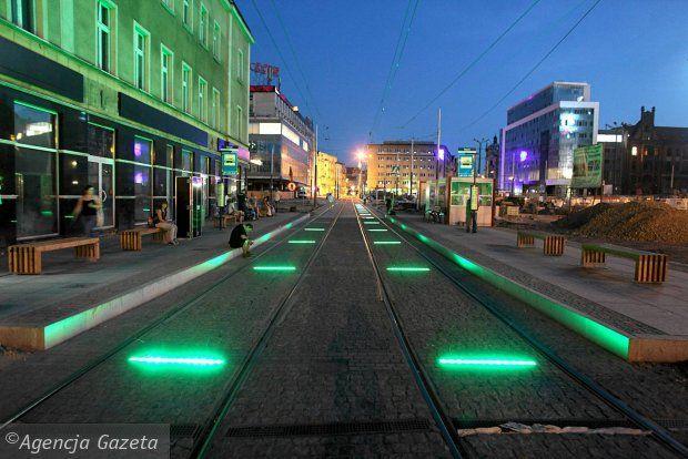 tramway in Katowice, Poland