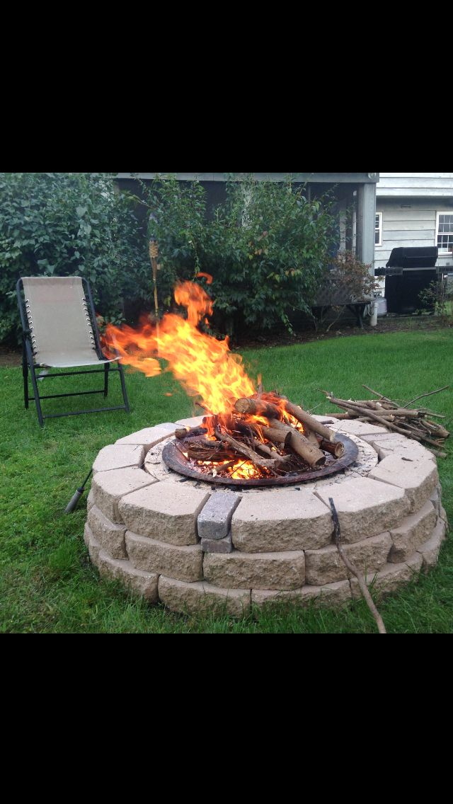 1000 images about my passion my home on pinterest for Fire pit project
