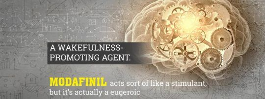 Modafinil acts similar to a stimulant, however it's really an eugeroic – an attentiveness advancing specialist. It doesn't make you fast or nervous like most established stimulants do. Modafinil likewise doesn't have a crash or withdrawal, the way many keen medications do.