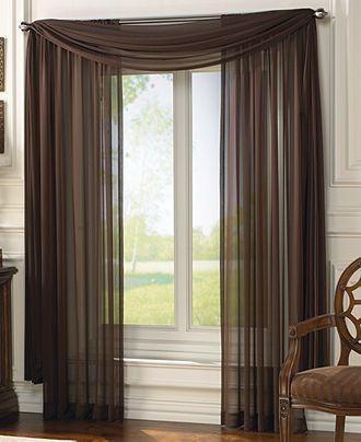 Fantásticas cortinas para el comedor.