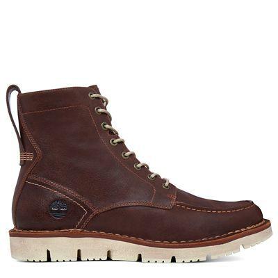 Descubre Westmore Moc Toe Boot marrón hombre hoy en Timberland. La tienda oficial online. Envío y devoluciones gratuitas.