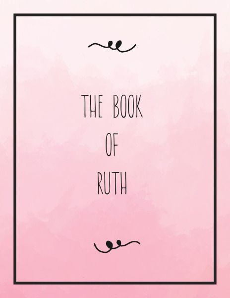 Women's Bible Study on the Book of Ruth