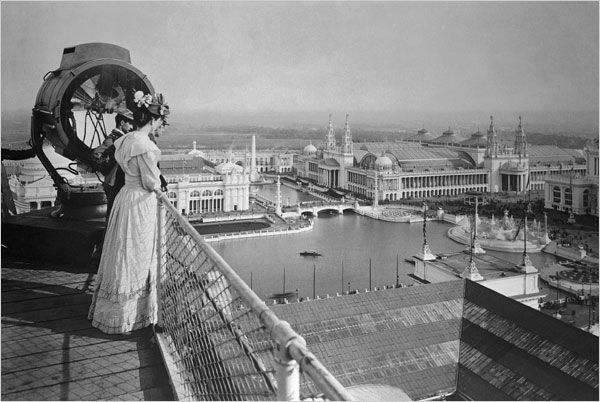 1893 Chicago World's Fair - The Columbian Exposition.  This is one of my favorite photos ever.