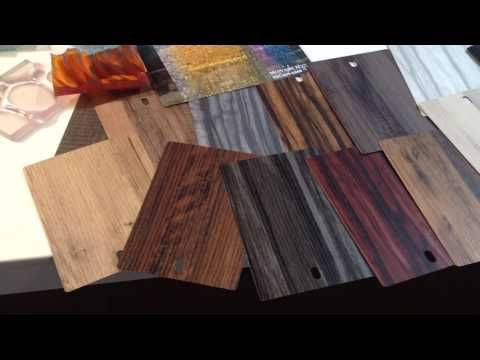 Monarch Custom Plywood Inc. - Presents TORINO Collection by Decotone Surfaces @IIDEX 2016 BOOTH 6035 - YouTube
