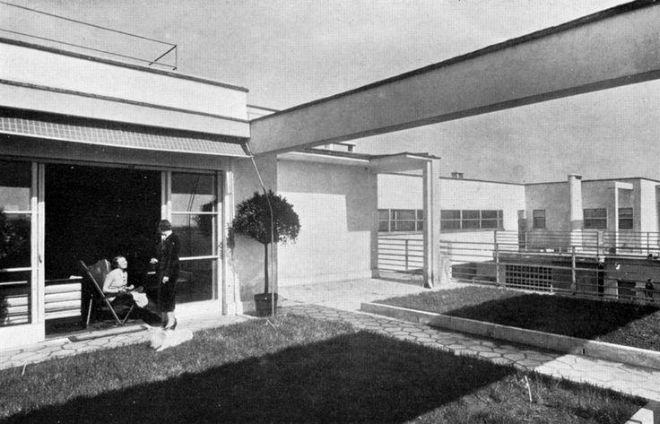 Giuseppe Terragni - Casa Rustici, Milan (1936)