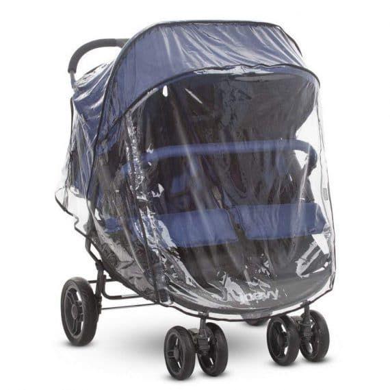 Clear Stroller Weather Shield Large-Light Grey Universal Stroller Rain Cover Waterproof Windproof Baby Pram Pushchair Accessories