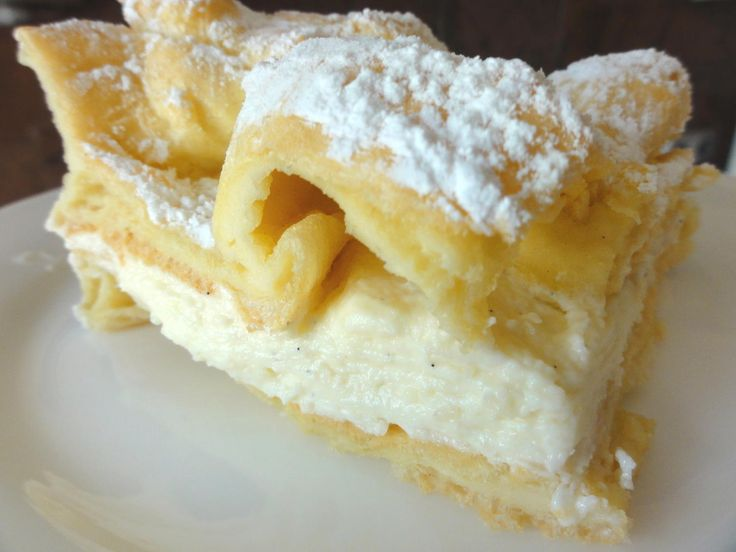 """Das perfekte Brandteig: """" KARPATKA """" (Gebirge)-Rezept mit einfacher Schritt-für-Schritt-Anleitung: Ich habe diese Köstlichkeit beim Bäcker…"""