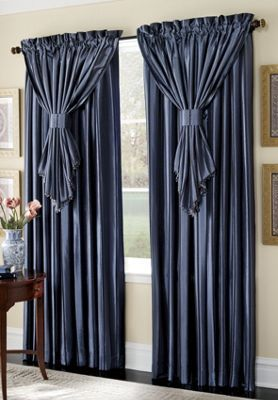 Somerset Drapes & Valances for bedroom windows (PURCHASED)