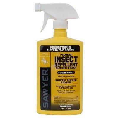 Sawyer Premium Clothing Insect Repellent,Permethrin 24 oz Trigger Spray