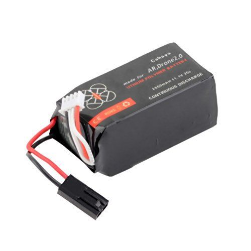 11.1V 2500mAh 20C Li-po Battery for Parrot AR.Drone 2.0 - http://www.dronefreeapps.com/product/11-1v-2500mah-20c-li-po-battery-for-parrot-ar-drone-2-0/