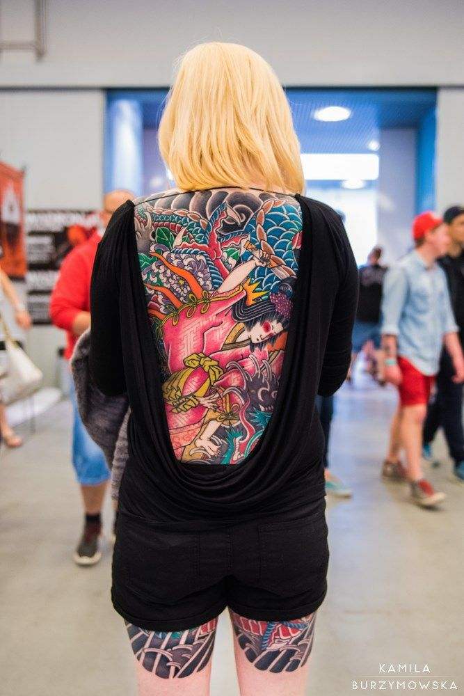 Pictures from the Tattoo Convention in Kraków 2016 ...