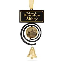 Whether you spent your days upstairs or down, the ringing of bells was a constant sound. Ring in the holidays in classic Downton style with this replica of the pull bells used by the family and staff.