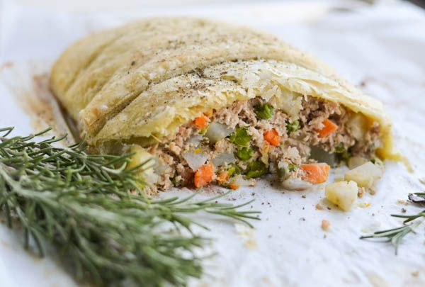 GROUND BEEF WELLINGTON from Rachel Schultz