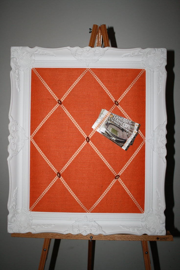 UT Vols Tennessee Display /  Memo Message Board / Push Pin