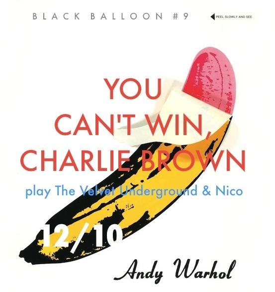 You Can't Win, Charlie Brown - Run Run Run (Velvet Underground Cover) | Free Mp3 Download via viinyl #indiepop #folk