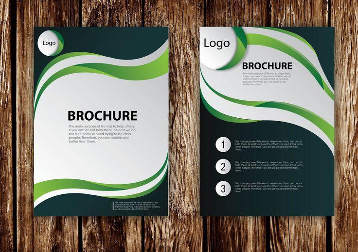How to Design Brochure Vector Using Adobe Illustrator (PART 1)