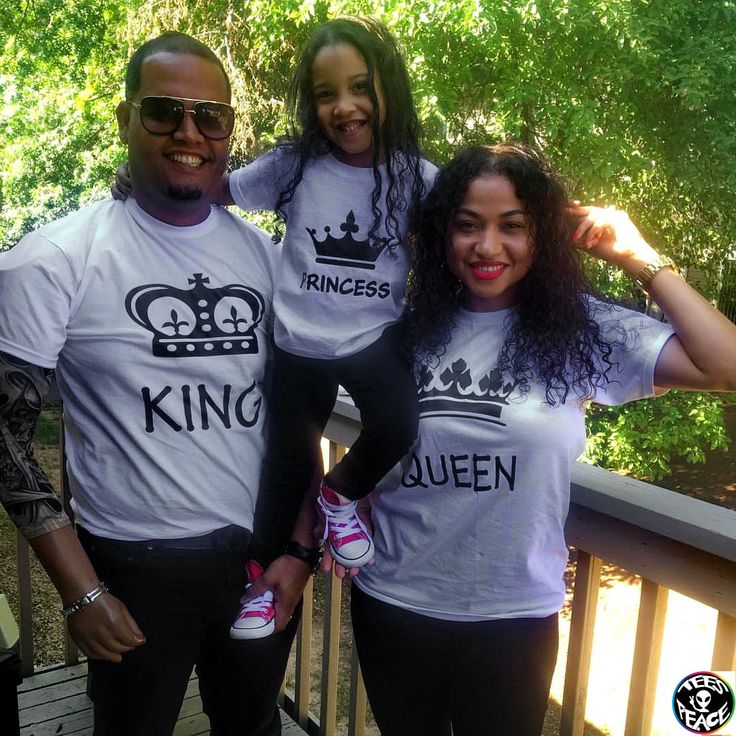 King Queen Princess Prince family set, King and Queen shirts, Prince and Princess shirts, Family shirts set, Family t shirts, King  Queen by Tees2peace on Etsy