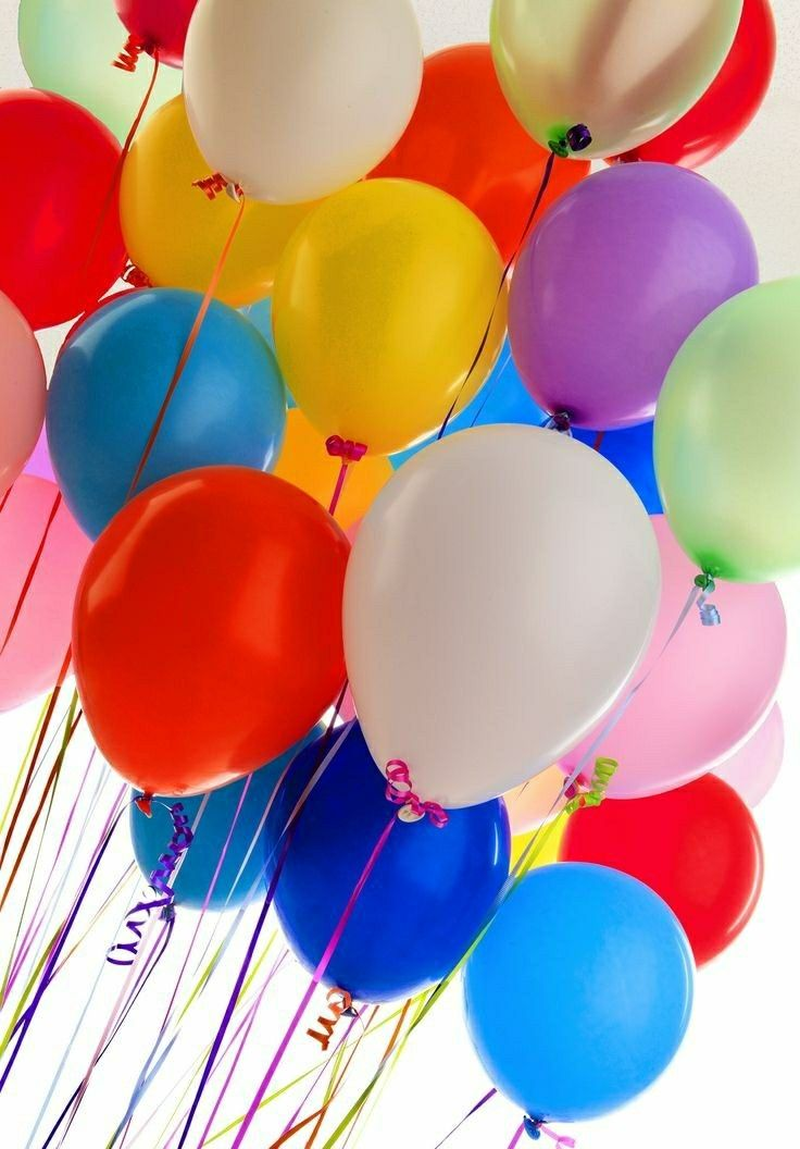 разные картинки шариков к дню рождения быстрых коротких