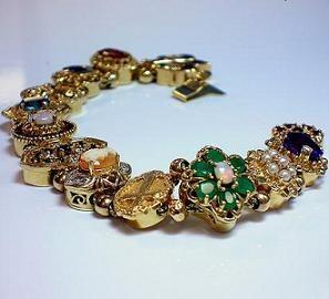slide bracelets | slide bracelets are a type of charm bracelet with charms that slide ...
