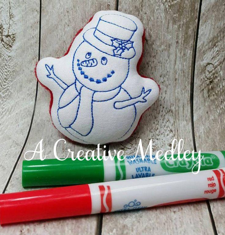 Doodle Its Snowman – A Creative Medley
