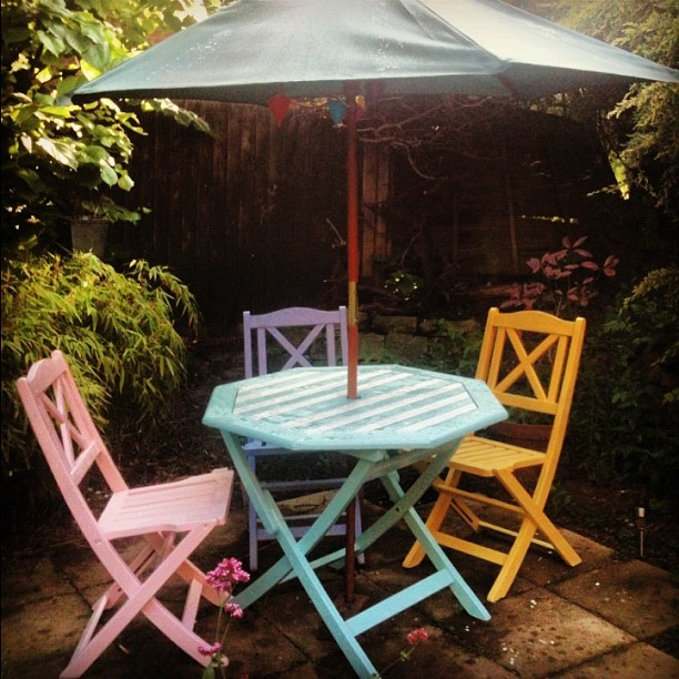 Garden furniture last years furniture makeover project i for Furniture 5 years no interest