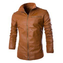 Leather Jacket For Men Fashion Shop Online | Twinkledeals.com Page 4