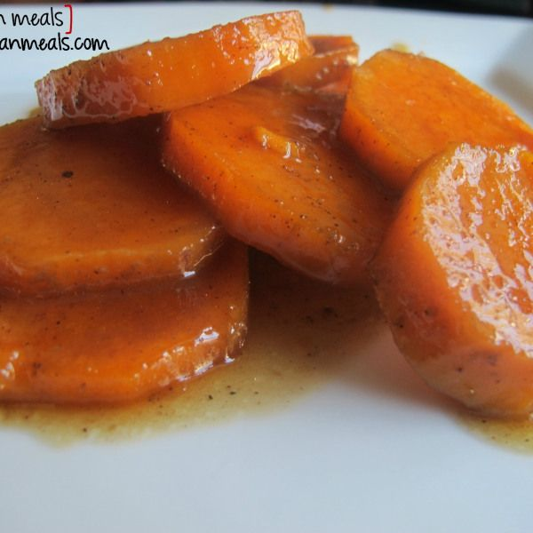 po' man meals - my mom's candied yams