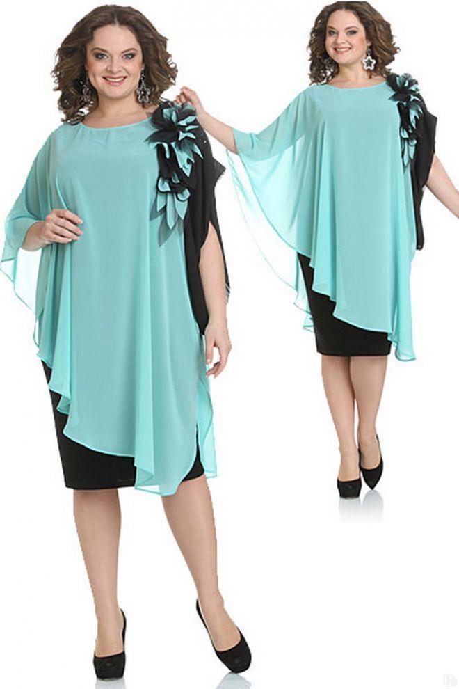 Платье для полных женщин на торжество 2016 (88 фото): на юбилей, на новый год, нарядное и праздничное